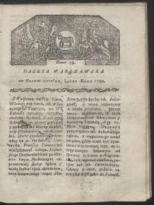 Gazeta Warszawska. R. 1780 Nr 58