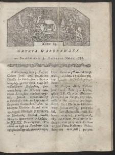 Gazeta Warszawska. R. 1780 Nr 64