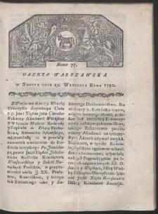 Gazeta Warszawska. R. 1780 Nr 77