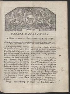 Gazeta Warszawska. R. 1780 Nr 81