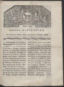 Gazeta Warszawska. R. 1780 Nr 96