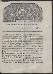 Gazeta Warszawska. R. 1780 Nr 99