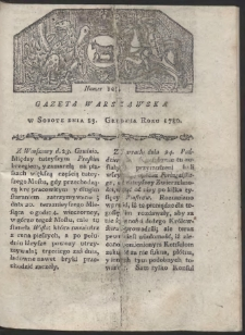 Gazeta Warszawska. R. 1780 Nr 103