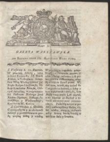 Gazeta Warszawska. R.1781 Nr 3
