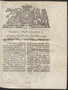 Gazeta Warszawska. R.1781 Nr 6