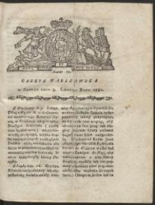 Gazeta Warszawska. R.1781 Nr 10