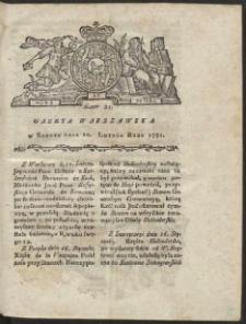 Gazeta Warszawska. R.1781 Nr 12