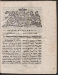 Gazeta Warszawska. R.1781 Nr 18