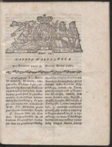 Gazeta Warszawska. R.1781 Nr 19