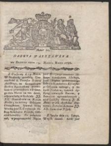 Gazeta Warszawska. R.1781 Nr 21