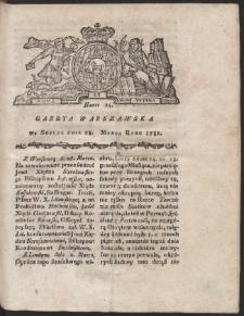Gazeta Warszawska. R.1781 Nr 25
