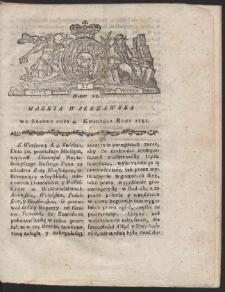 Gazeta Warszawska. R.1781 Nr 27