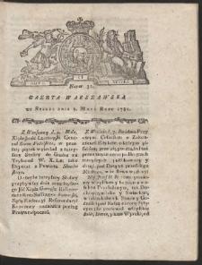 Gazeta Warszawska. R.1781 Nr 35