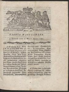 Gazeta Warszawska. R.1781 Nr 36