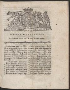 Gazeta Warszawska. R.1781 Nr 38