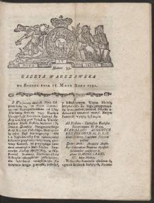 Gazeta Warszawska. R.1781 Nr 39