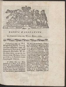 Gazeta Warszawska. R.1781 Nr 41
