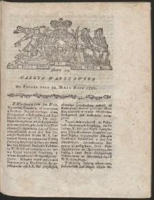 Gazeta Warszawska. R.1781 Nr 43