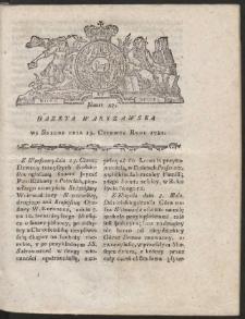 Gazeta Warszawska. R.1781 Nr 47