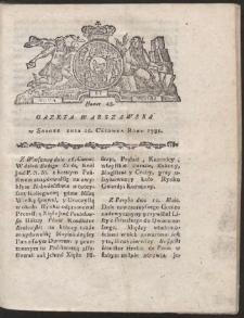 Gazeta Warszawska. R.1781 Nr 48