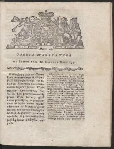 Gazeta Warszawska. R.1781 Nr 49