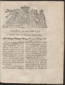 Gazeta Warszawska. R.1781 Nr 50