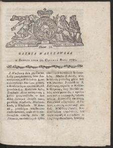 Gazeta Warszawska. R.1781 Nr 52