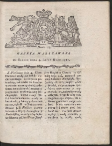 Gazeta Warszawska. R.1781 Nr 53