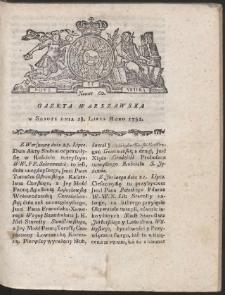 Gazeta Warszawska. R.1781 Nr 60