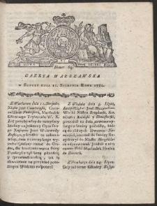 Gazeta Warszawska. R.1781 Nr 64
