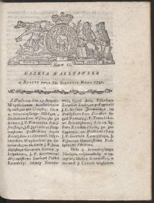 Gazeta Warszawska. R.1781 Nr 66