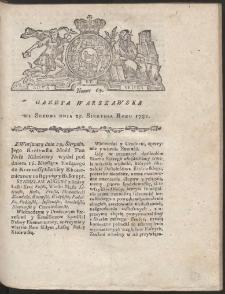 Gazeta Warszawska. R.1781 Nr 69