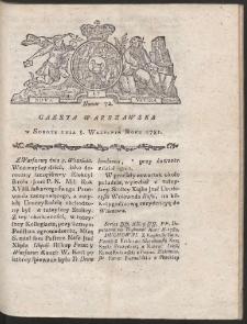 Gazeta Warszawska. R.1781 Nr 72