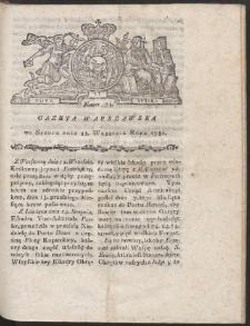 Gazeta Warszawska. R.1781 Nr 73