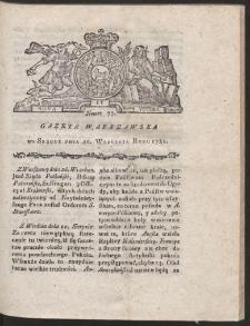 Gazeta Warszawska. R.1781 Nr 77