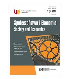 Spis treści [Społeczeństwo i Ekonomia = Society and Economics, 2018, Nr 1 (9)]