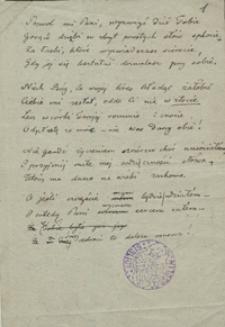 [Utwory poetyckie z lat 1845-1849]