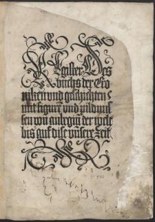 Liber chronicarum, Germ: Das Buch der Chroniken und Geschichten / Trad. Georgius Alt