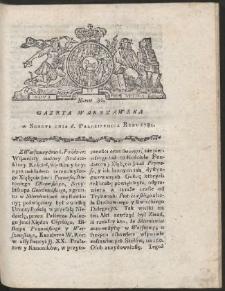Gazeta Warszawska. R.1781 Nr 80