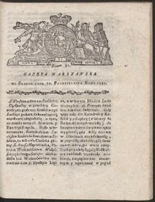 Gazeta Warszawska. R.1781 Nr 81