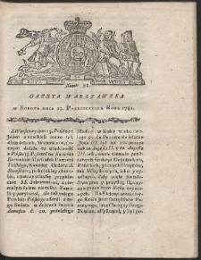 Gazeta Warszawska. R.1781 Nr 82