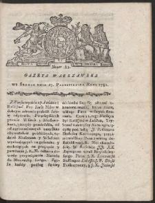 Gazeta Warszawska. R.1781 Nr 83
