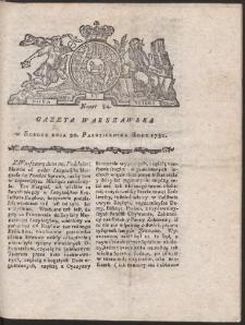 Gazeta Warszawska. R.1781 Nr 84