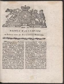 Gazeta Warszawska. R.1781 Nr 86