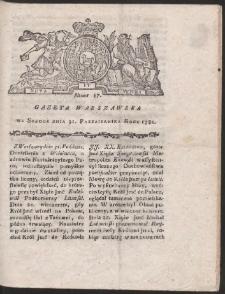 Gazeta Warszawska. R.1781 Nr 87