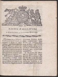 Gazeta Warszawska. R.1781 Nr 88