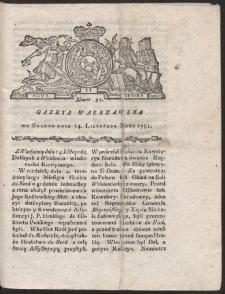 Gazeta Warszawska. R.1781 Nr 91