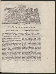 Gazeta Warszawska. R.1781 Nr 95