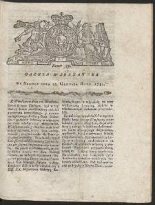 Gazeta Warszawska. R.1781 Nr 99