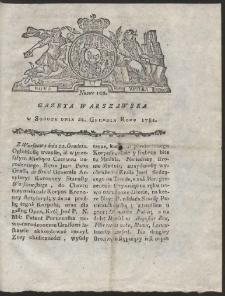 Gazeta Warszawska. R.1781 Nr 102